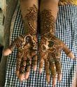 Female Engagement Mehndi