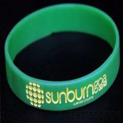 Silicon Debossed Stylish Wristband