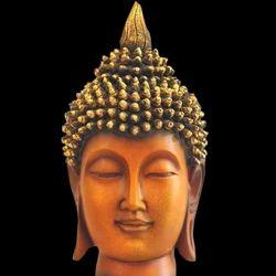 FRP Buddha Head Artefact