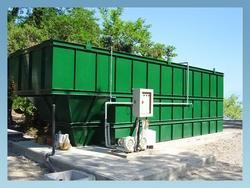 Below Ground Sewage Treatment Plant
