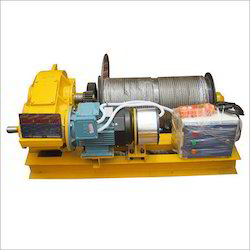 Industrial Winch - Electric Wire Rope Winch Manufacturer from New Delhi