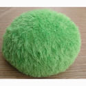 Green Knitted Pouf