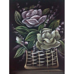 Painting Of Flower Pot