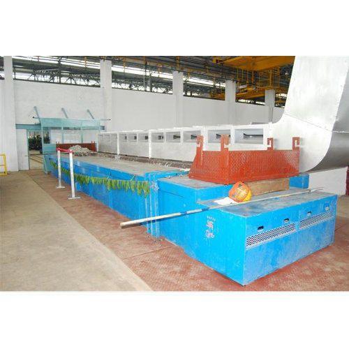 Lip Type Zinc White Fume Extraction System