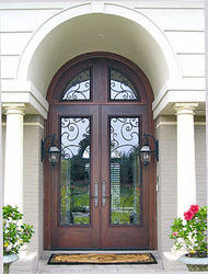 French Exterior Wood Entry Door