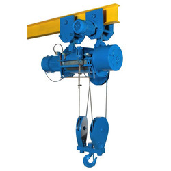 ELFAB With Trolley, Without Trolley Electric Monorail Hoist, Load Capacity: above 15 ton, for Industrial
