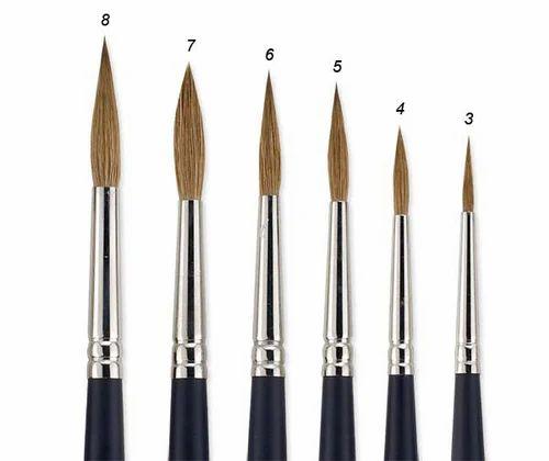 Dry brush painting technique
