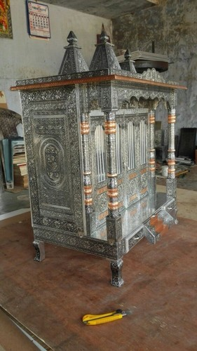 Copper Oxidized Temple