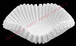 White Marble Decorative Bowl
