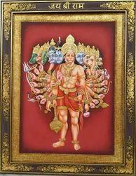 Virat Swaroop Hanuman Painting