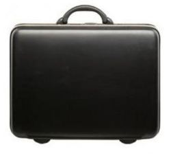 VIP Titanium Glx Suitcase Jet Black