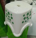 Printed Plastic Bathroom Stool