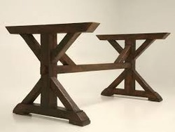 Charmant Wooden Table Base