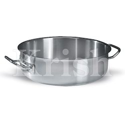 Heavy Duty Shallow Braising Pan