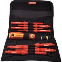 Insulated Interchangeable Screwdriver Set 10-pce