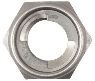 Self Locking Nut >> Stainless Steel Self Locking Nut
