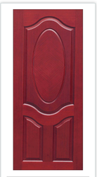 3 Panel Oval Texture Moulded Doors