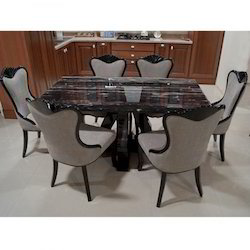 ARENA MB 300 Marble Top Dining Table With 6 Chairs C 2149