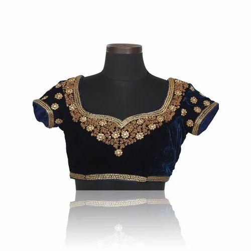 805c67882b15cb Georgette Embroidered Designer Blouses