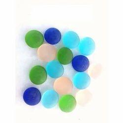 Matt Finish Glass Pebbles
