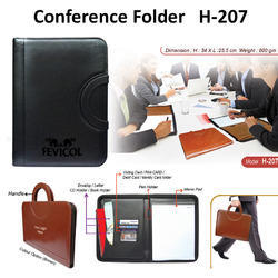 Leatherette Document File Folder For Office