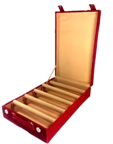 5 Rods Velvet Bangle Box Jewelry Boxes Addyz Kolkata ID