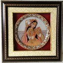 Marble Princess Design Round Plate MBF202