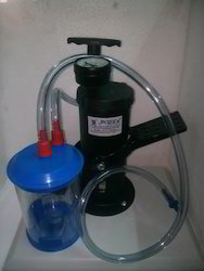 Apex Verticle Foot Suction Machine with Poly jar 1000 ML