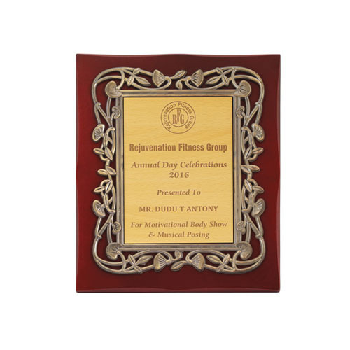 Wooden Frame Plaque, Patiya - Shri Nirpan Award & Gifts, Delhi | ID ...