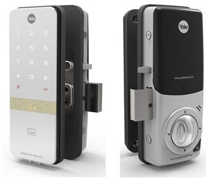 Keypad Yale Digital Door Lock For Glass Doors Astute Automation