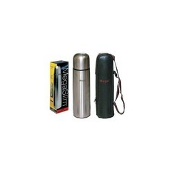 Steel Silver Mega 500 Ml Flask, For Home,Kitchen, Capacity: 500ml
