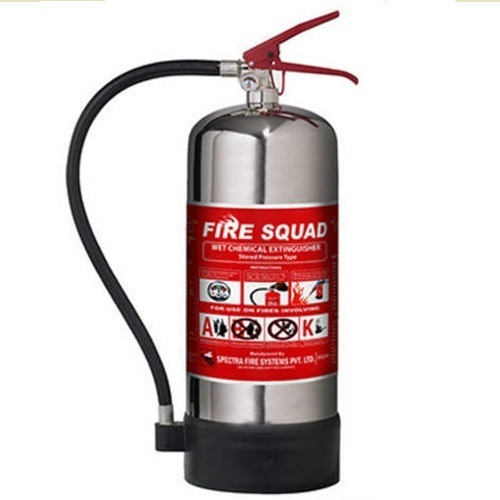 6Ltr Wet Chemical K Type Kitchen Fire Extinguisher at Rs 11200 ...