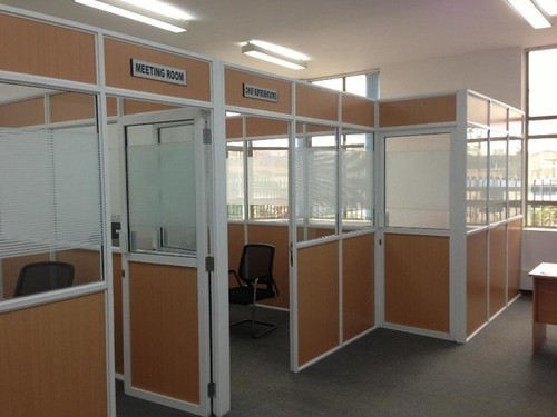 office partition with door. Glass Aluminium Office Partition With Door