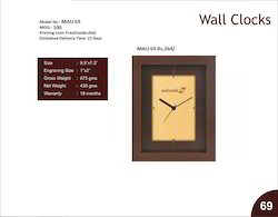 Wall Clock TAU 69