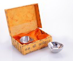 Stainless Steel Diya Set