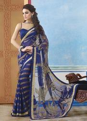 Chiffon Embroidered Designer and Party Wear Saree