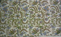 Jaal Block Printed Fabric