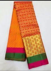 Party Wear 10 Colours Kanchipuram Silk Sarees