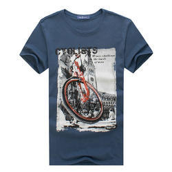 Medium & Large Cotton Mens Printed T-Shirt, Rs 250 /piece | ID ...