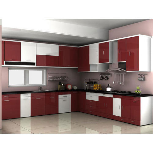 PVC Modular Kitchen at Rs 15000/square feet | Christopher ...