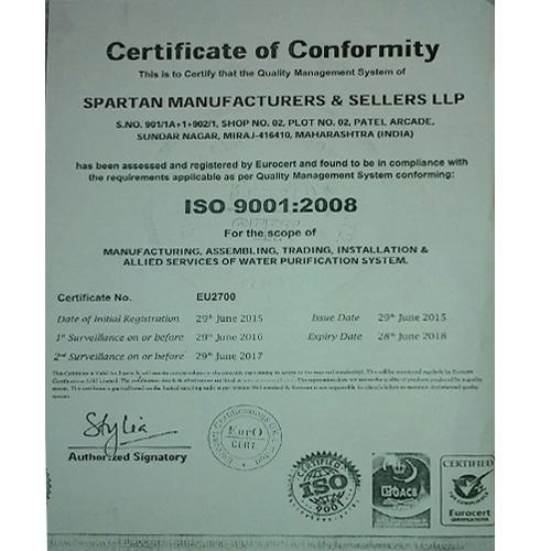 Spartan Manufactures & Sellers LLP - Manufacturer from