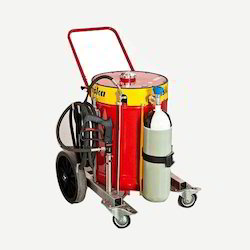 Trolley Mounted Water Mist and Caf Fire Fighting Equipment