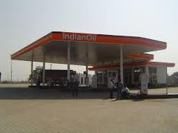 Petrol Pump Canopies Structures
