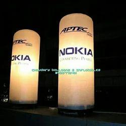 LED Light Inflatable Pillar