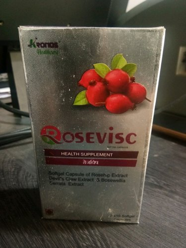 Rosevisc Softgel Capsule, Packaging Size: 10*10, Packaging Type: Blister