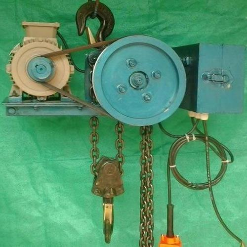 Motorised Chain Pulley Block Capacity 3 Ton For Gantry
