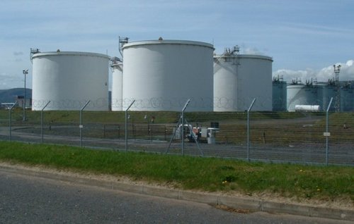 Bulk Oil Storage Tank