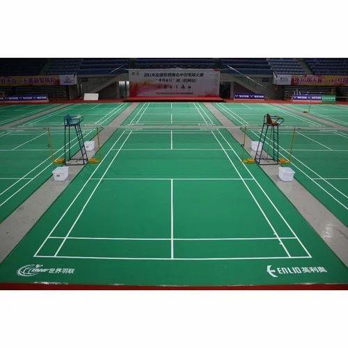 Badminton Court Indoor Badminton Court Flooring