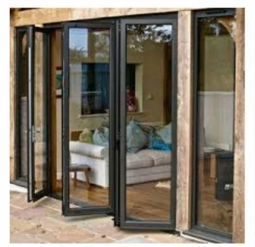 Standard Aluminum French Doors Sizedimension 8 X 7 Rs 220