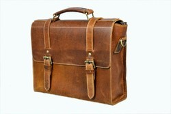 Stan India Tan, Brown, Vintage, Rough Briefcase Bags